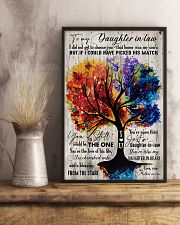 To My Daughter-in-law - Colorful Tree - The One  16x24 Poster lifestyle-poster-3