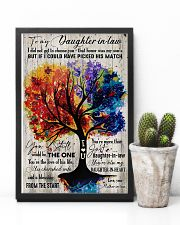 To My Daughter-in-law - Colorful Tree - The One  16x24 Poster lifestyle-poster-8