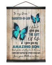 To My Daughter-in-law - Butterfly - Gift of Life Hanging Canvas tile