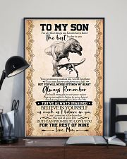 POSTER - TO MY SON - T REX- FOR ALL 16x24 Poster lifestyle-poster-2