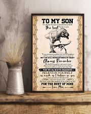 POSTER - TO MY SON - T REX- FOR ALL 16x24 Poster lifestyle-poster-3