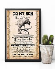 POSTER - TO MY SON - T REX- FOR ALL 16x24 Poster lifestyle-poster-8