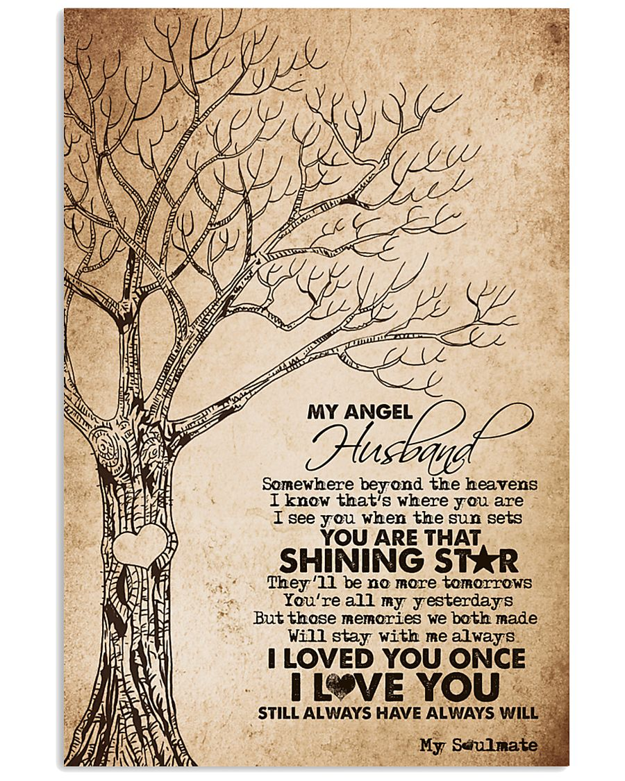 MY ANGEL HUSBAND 16x24 Poster