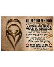 TO MY BOYFRIEND 24x16 Poster front