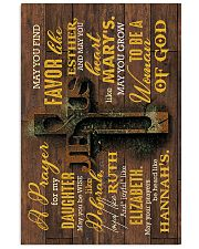 Dad And Mom To Daughter - May You Be Wise Like Vertical Poster tile