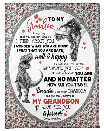 TO MY GRANDSON - T REX - EVERYDAY