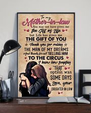 TO MY MOTHER-IN-LAW - CIRCUS 16x24 Poster lifestyle-poster-2