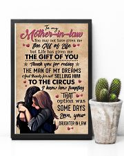 TO MY MOTHER-IN-LAW - CIRCUS 16x24 Poster lifestyle-poster-8