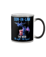 SON-IN-LAW - DRAGON - THE MAN THE MYTH THE LEGEND Color Changing Mug thumbnail