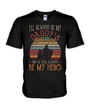 I'll always be my daddy's little girl  V-Neck T-Shirt thumbnail