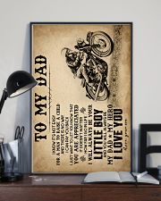To My Dad - Motorcycle - Poster 16x24 Poster lifestyle-poster-2