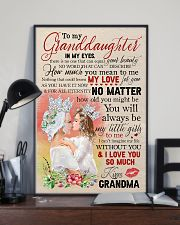 Grandma to Granddaughter - Poster 16x24 Poster lifestyle-poster-2