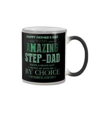 MUG - TO MY BONUS DAD - FATHER'S DAY Color Changing Mug tile