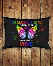 Angel Grandma - I Used To Be Her Angel  Rectangular Pillowcase aos-pillow-rectangle-front-lifestyle-2