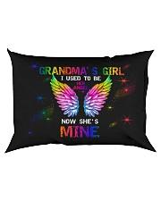 Angel Grandma - I Used To Be Her Angel  Rectangular Pillowcase back