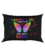 Angel Grandma - I Used To Be Her Angel  Rectangular Pillowcase front