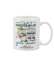 MUG - TO MY DAUGHTER-IN-LAW - NURSE - CROWN Mug thumbnail