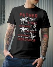 T-SHIRT - FATHER - FAVORITE DINOSAUR Classic T-Shirt lifestyle-mens-crewneck-front-6