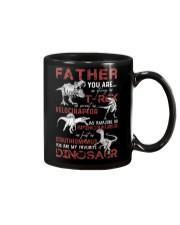 T-SHIRT - FATHER - FAVORITE DINOSAUR Mug thumbnail