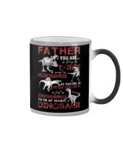 T-SHIRT - FATHER - FAVORITE DINOSAUR Color Changing Mug thumbnail