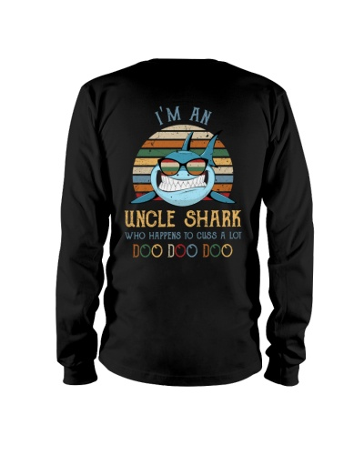 I'm an uncle shark Who happens to cuss a lot Doo