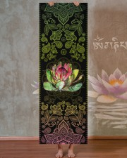 To My Daughter-in-law - Protea Flower - Mandala  Yoga Mat 24x70 (vertical) aos-yoga-mat-lifestyle-29
