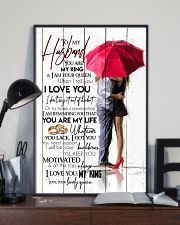 TO MY HUSBAND - COUPLE - I LOVE YOU 16x24 Poster lifestyle-poster-2