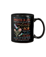 TO MY DAUGHTER-IN-LAW - PROTEA FLOWER - CIRCUS Mug front