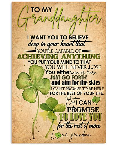 GRANDDAUGHTER - CLOVERS - YOU WILL NEVER LOSE
