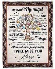 """FLEECE BLANKET - TO MY ANGEL DAD - TREE Small Fleece Blanket - 30"""" x 40"""" front"""