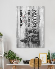 Dad to Son - Motocycling - Never Forget That You 20x30 Gallery Wrapped Canvas Prints aos-canvas-pgw-20x30-lifestyle-front-03