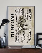 To My Dad - Farmer - Poster 16x24 Poster lifestyle-poster-2