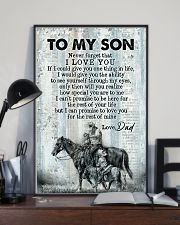 To My Son - Horse Riding - Never Forget That  16x24 Poster lifestyle-poster-2