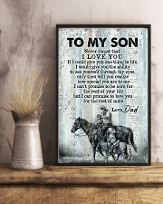 To My Son - Horse Riding - Never Forget That  16x24 Poster lifestyle-poster-3