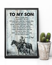 To My Son - Horse Riding - Never Forget That  16x24 Poster lifestyle-poster-8