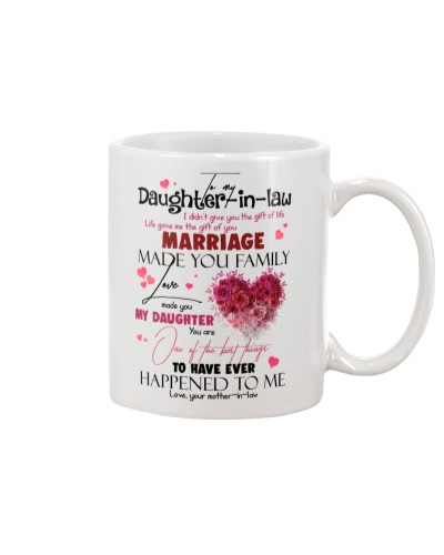 TO MY DAUGHTER-IN-LAW - HEART - GIFT OF LIFE