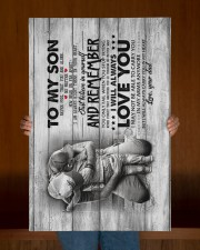 To My Son - Never Feel that You Are Alone  20x30 Gallery Wrapped Canvas Prints aos-canvas-pgw-20x30-lifestyle-front-22