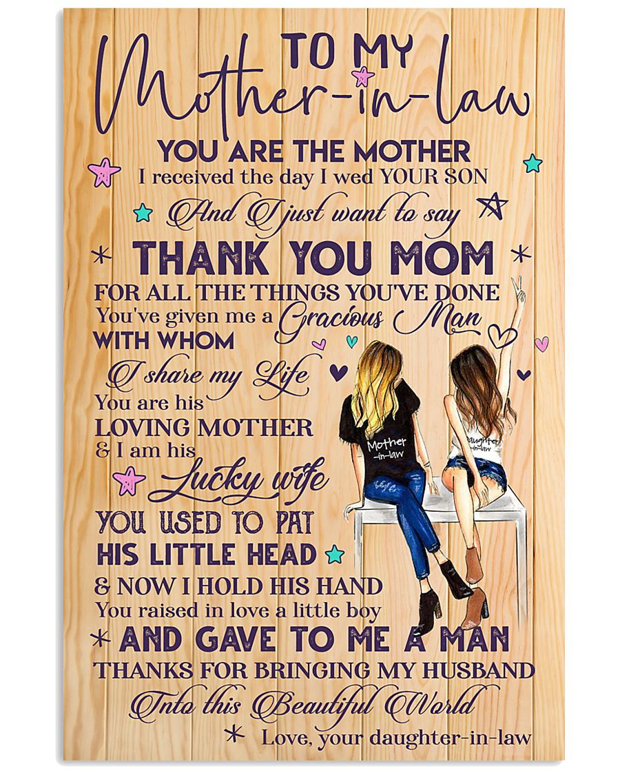 TO MY MOTHER-IN-LAW 16x24 Poster