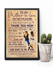 TO MY MOTHER-IN-LAW 16x24 Poster lifestyle-poster-8
