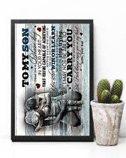 To My Son - Hugging - I Want You To Believe Deep 16x24 Poster lifestyle-poster-8