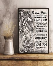 TO MY MOM - TIGER - YOU ARE APPRECIATED 16x24 Poster lifestyle-poster-3