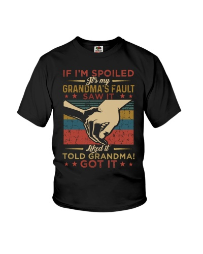 GRANDDAUGHTER - VINTAGE - IT'S MY GRANDMA FAULT
