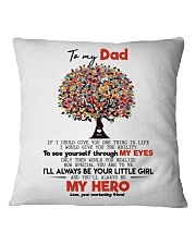 TO MY DAD Square Pillowcase thumbnail