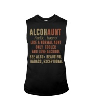 Like a normal aunt only cooler and love alcohol Sleeveless Tee thumbnail