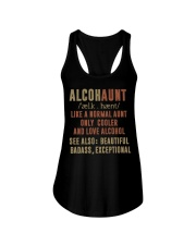 Like a normal aunt only cooler and love alcohol Ladies Flowy Tank thumbnail