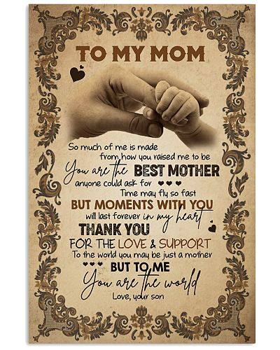 TO MY MOM - HANDS - THANK YOU