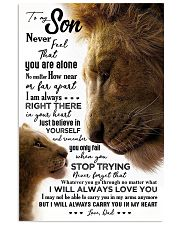 POSTER - TO MY SON - LION - NEVER FEEL 16x24 Poster front