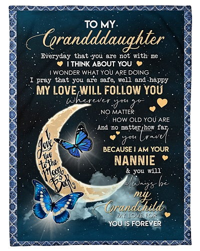 GRANDDAUGHTER - BUTTERFLIES - MY LOVE FOR YOU