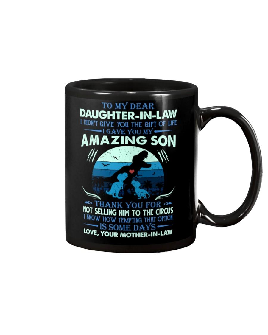 MUG - TO MY DAUGHTER-IN-LAW - T REX - CIRCUS Mug