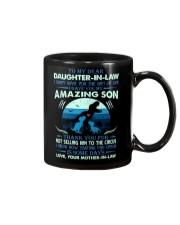 MUG - TO MY DAUGHTER-IN-LAW - T REX - CIRCUS Mug front